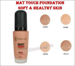 Flormar Mat Touch Foundation 30 ml Mat Look Soft & Healthy Skin - $13.69