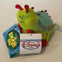Disney Store A Bugs Life Heimlich Caterpillar Beanie Plush Stuffed Anima... - $9.99
