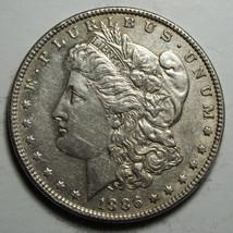 1886 MORGAN SILVER DOLLAR COIN Lot# D 30