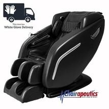 Black Titan Regal 2 L-Track Zero-G Deep Tissue Heat Massage Chair + Whit... - $4,249.00