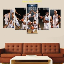 5pcs kentucky wildcats sports team printed canvas wall art picture home decor thumb200