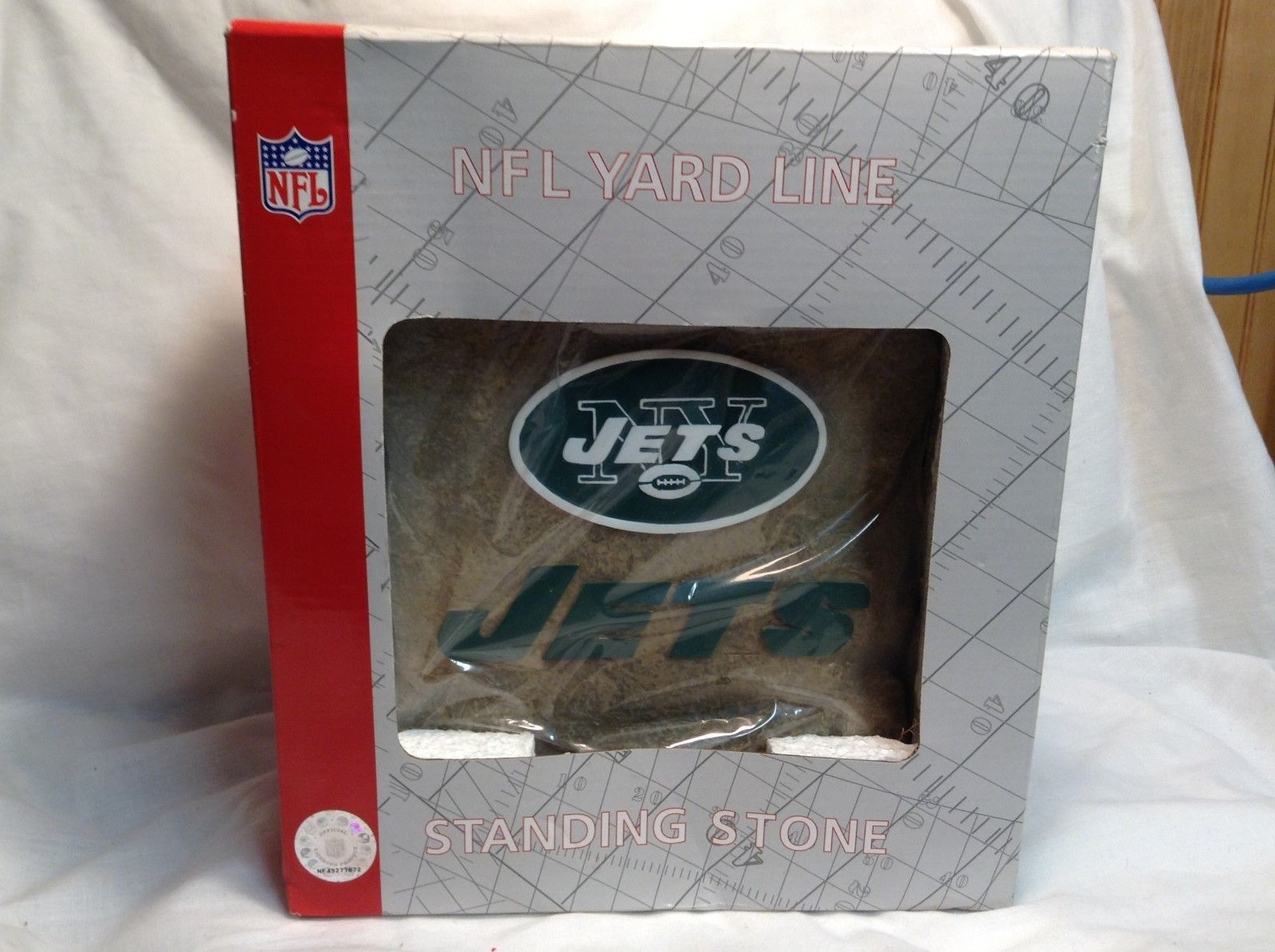 NEW NFL Jets Yard Line Stepping/Standing Stone