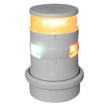 Aqua Signal Series 34 Tri-Color/Anchor Mast Mount LED Light - White Housing [347 - $248.70