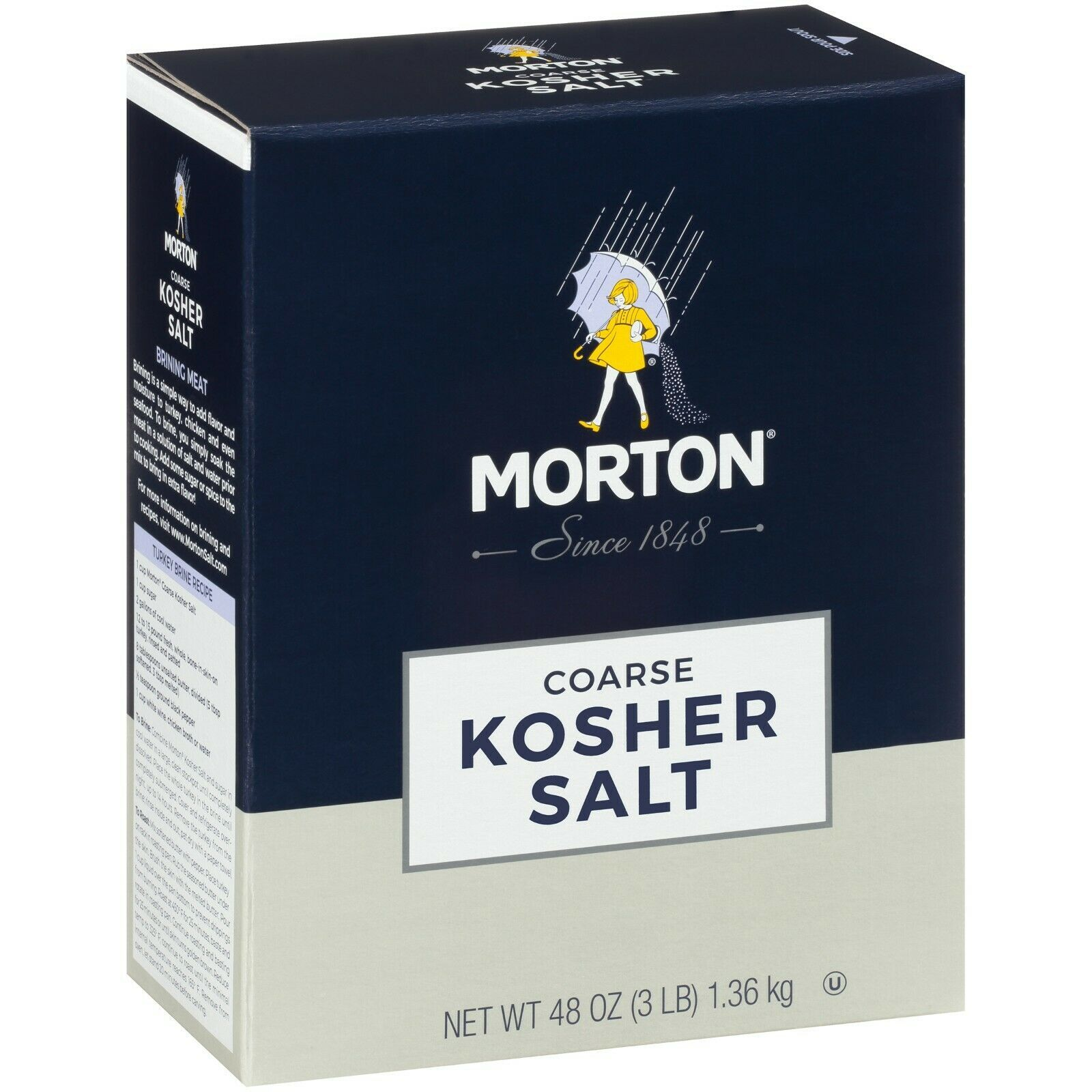Morton  Coarse Kosher Salt 3 lbs - $6.25