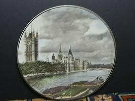 Vintage Royal Doulton Translucent TC 1029 House Of Parliament Plate MINT! - $13.14