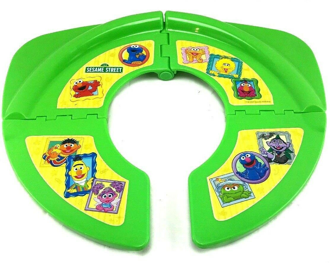 Sesame Street Fold And Go Potty Seat training travel
