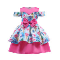 Off The Shoulder Flower Girl Dresses Real Photo Ball Gowns For Girls Kid... - £22.04 GBP