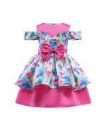 Off The Shoulder Flower Girl Dresses Real Photo Ball Gowns For Girls Kid... - €24,90 EUR