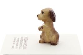 Hagen-Renaker Miniature Ceramic Dog Figurine Don Winton Cocker Pup Begging image 2