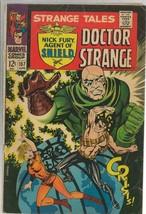 Strange Tales #157 ORIGINAL Vintage 1967 Marvel Comics 1st Cameo Living Tribunal - $148.49