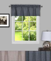 "Sydney Plaid Decorative Kitchen Window Curtain 14"" Valance - $12.59"