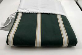 Restoration Hardware Teen Vintage Crew Stripe Duvet Cover Twin Green $139 - $59.99