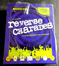 Reverse Charades Party Game Team Acts 1 Player Guesses Ages 6+ Sealed USAopoly - $25.00