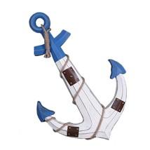 Hanging Decoration Anchor Mediterranean Style   white - $64.14