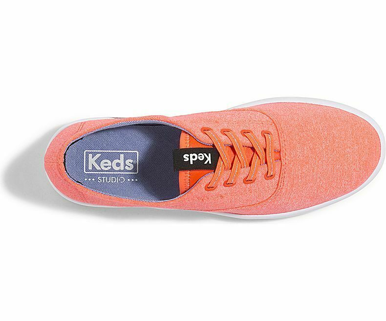 Keds WF58211 Women's Studio Leap Coral Shoes, 6 Med image 4