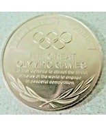 MUNICH GERMANY SAPPORO JAPAN,THE GREAT OLYMPIC MOMENTS  XX OLYMPIAD,TOKEN - $20.25