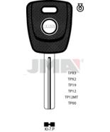 TP00KI-7P/ KIA Auto Key/Tranponder/ Original Empty Shells  - $9.00