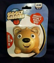 Giggly Gabbers Light Brown Bear Ball Dog Toy - $8.90