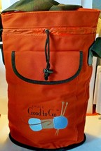 Eagle Good to Go One Skein Knitter's Tote Canvas Craft Travel Bag Strap ... - $23.02