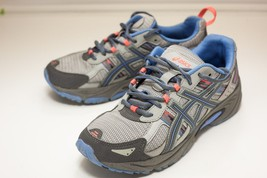 Asics Gel-Venture Size 9.5 Gray Trail Running Shoes Women's - $32.00
