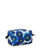 Marc Jacobs Quilted Floral Cosmetic Bag Pouch In Blue Multi MRSP $95 - ₨3,296.95 INR