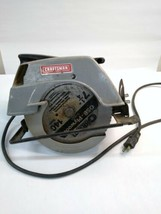 "Craftsman Sears 7"" Circular Saw 110 volt 315.10820D - $59.40"