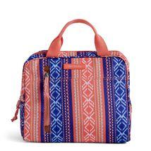 Vera Bradley Water-Repellent Lighten Up Lunch Cooler Bag, Bright Serape Stripe image 3
