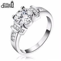 Effie Queen Elegant Finger Ring for Women Party with AAA Austrian Cubic ... - $9.95+