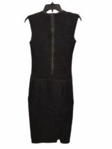 NWT NEW Women Helmut Lang Black Pencil Dress Size 00 image 4