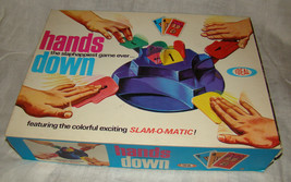 Vtg 1964 HANDS DOWN Action Slam-o-Matic Ideal Game COMPLETE w/Inserts - $20.00
