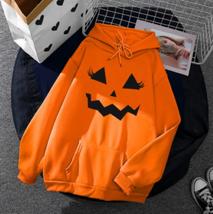 Halloween Hoodie Sweatshirt Pullover Women Sweater (J) Ship From USA image 1