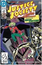 Justice Society of America Comic Book Mini-Series #3 DC 1991 VFN/NEAR MI... - $2.75