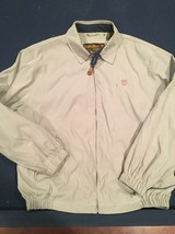 Vintage Men's Timberland Jacket Weather Gear 3 Pocket Green Size Medium M AA57 - $31.92