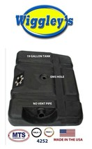 PLASTIC FUEL TANK MTS 4252 FITS 80-84 FORD PICKUP 19GAL MOUNTED BEHIND REAR AXLE image 1