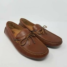Johnston & Murphy Mens Loafers Shoes Brown 25-1782 Slip-On Moc Toe 11.5 M - $28.87