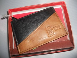 Mens Boston Red Sox Money Clip Genuine Leather Wallet - $18.61