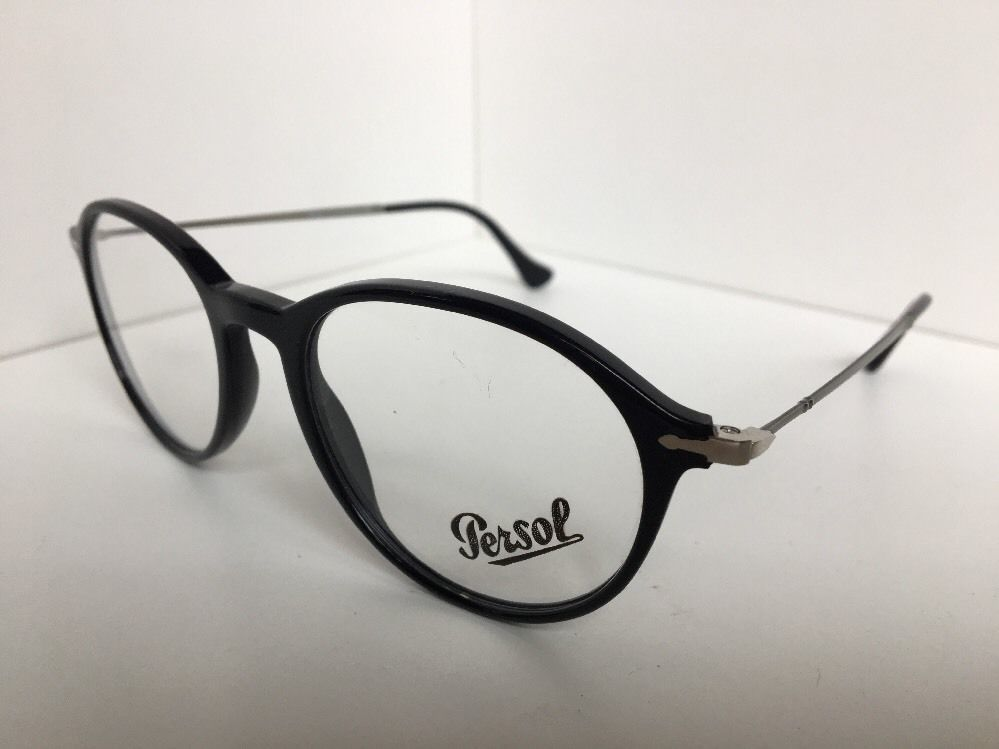 8f4b30cb696df New Persol 3125-V 95 51mm Rx Round Black and 26 similar items