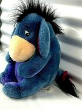 "Eeyore Button Tail Disney Store Plush 12"" Soft  Cuddly Toy Stuffed Animal - $20.74"