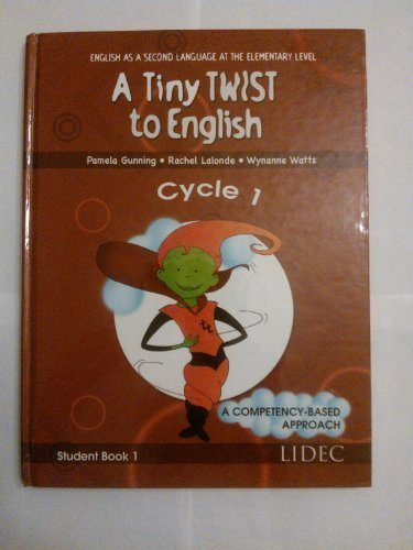 A Tiny Twit to English-Cycle 1-Student Book 1 [Hardcover] Helene Martin