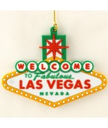 Welcome Las Vegas Sign Xmas Christmas Tree Ornament - $6.99