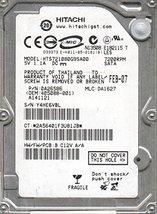 HTS721080G9SA00, PN 0A26586, MLC DA1627, Hitachi 80GB SATA 2.5 Hard Drive