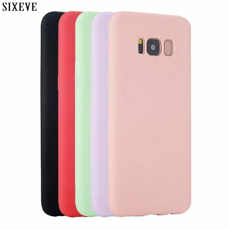 Primary image for Silicone Case for Samsung galaxy S8 S9 S10 Plus S6 S7 Edge Note 8 9 3 4 5 J3 J5