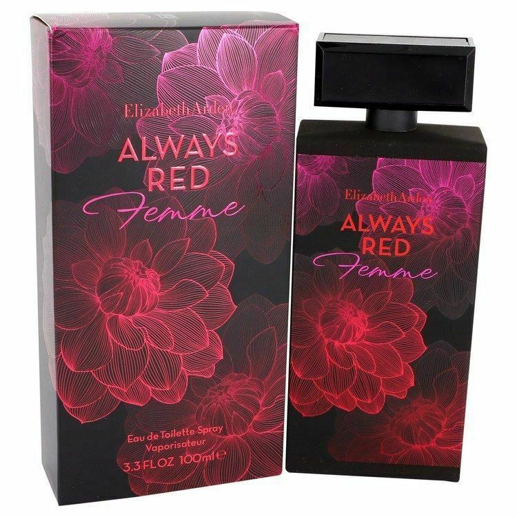 Perfume Always Red Femme by Elizabeth Arden Eau De Toilette Spray 3.3 oz for Wom - $30.09