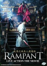Korean Movie DVD Rampant (2018) GOOD ENG SUB All Region Ship From USA