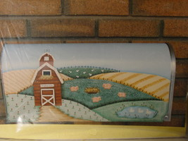 Pattern to make Painted Canvas Mailbox Cover - Farm - $4.00