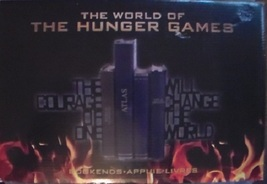 The World of the Hunger Games Bookends - $39.99