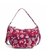 Vera Bradley Go ahead Convertible Crossbody Shoulder Bag in Bloom Berry - $49.99