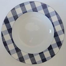 Studio Nova Picnic Blueberry Y0252 Rimmed Soup Bowl - $14.84