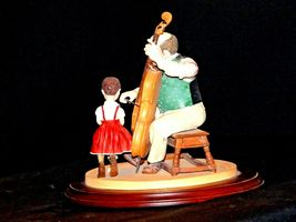 """1992 Days to Remember - Norman Rockwell """"The Fiddler"""" Figurine AA19-1611 Vinta image 6"""