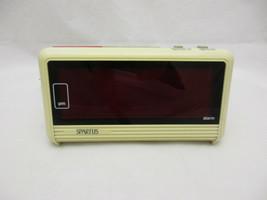 Vintage Spartus Large LED Alarm Clock Model 1181-61  - $32.68